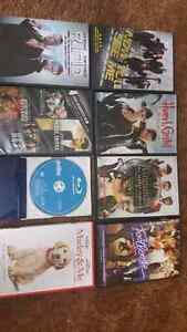Variety pack of DVDS