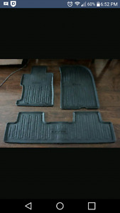 2006 to 2011 civic rubber floor mats and trunk tray