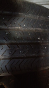 205/65R15 ALL SEASON MICHELIN TIRES..TWO FOR $60