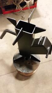 Portable stove/ heater. Rocket heater