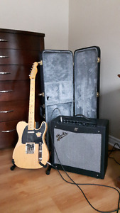 Fender Squire Vibe and Mustang 2 Amp