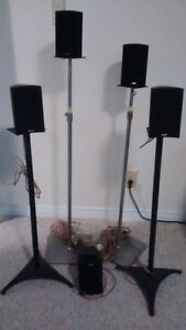 Surround Speakers with Stands