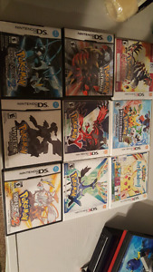 DS & 3DS Pokemon Games