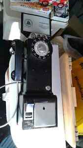 Old Antique Pay phone  Windsor Region Ontario image 1
