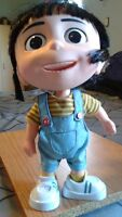 """Despicable Me 2 AGNES interactive talking doll 11"""""""