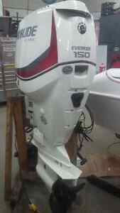 "150 HP, Evinrude, E-tec, 20"" Long Shaft, Outboard Motor"