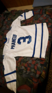 Toronto Maple Leaf Jersey 3 Phaneuf