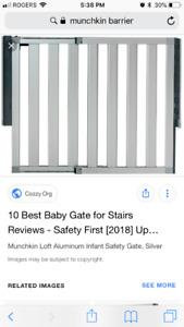 Barrière de sécurité Munchkin Loft-  safety barrier (2)