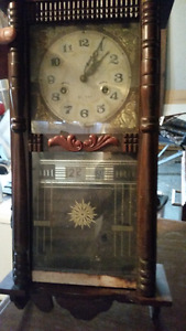 antique clock needs restoring