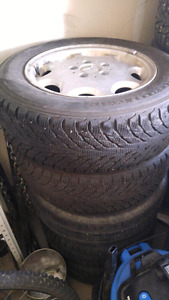"""5x112 15"""" wheels with winter tires"""