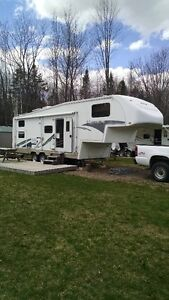 FIFTH WHEEL 2004 TITANIUM PAR GLENDALE 28E33B