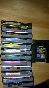 Nintendo regular games for sale selling as a lot.