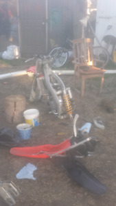 Looking for 2001 cr125 parts