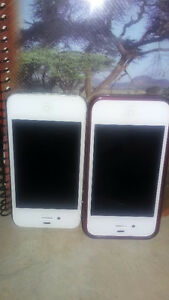 2 cellphone 1phone4 for sale 100,00 each not activated