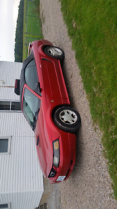 2001 red Mustang convertible