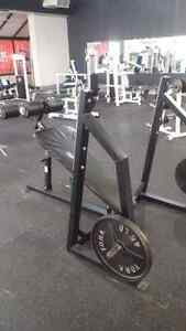 Hammer Strength Flat, Incline, Decline Olympic benches Kitchener / Waterloo Kitchener Area image 4