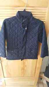 Gap fall jacket size 5 black in excellent condition no holds
