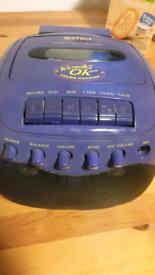 Caraoke ok sound machine