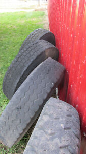 9.00 - 20 tires and rims Moose Jaw Regina Area image 1