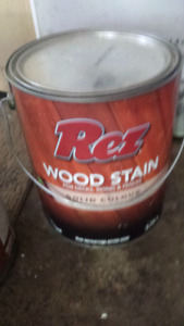 Wood stain  full cans