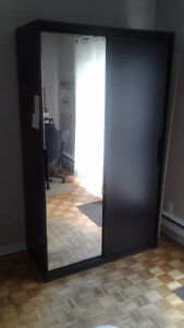 2 door Mirrored  IKEA wardrobe, Like New conditon