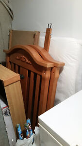 3 in 1 Crib and Mattress Cambridge Kitchener Area image 2