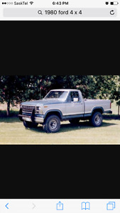 Wanted 1987 or older 4x4