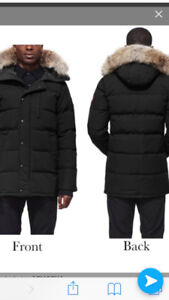 Canada goose homme Parka Brand New