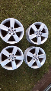 VW Rims 5x112 with summer tires
