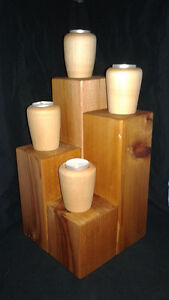 Tea candle stands