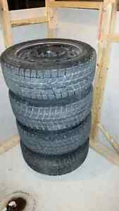 Brigestone Blizzak Ws70   215/55R16 Winter Tires and Rims