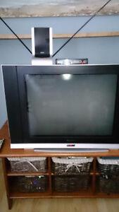 TV-Meuble et décodeur