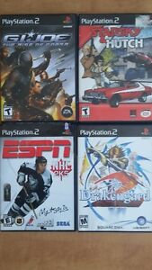 PLAYSTATION 2 - NLH / G.I JOE / DRAKENGARD / STARSKY & HUTCH
