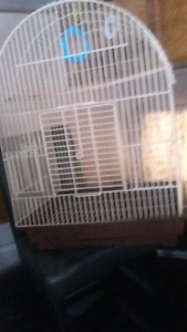 Never used been in storage bird cage