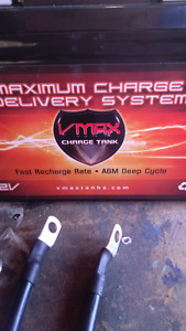 Brand New Battery kit - VMAX 12V AGM Charge Tank