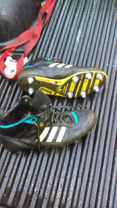 Rugby cleats- Men's size 9 Adidas