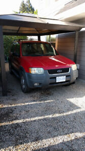 2002 FORD ESCAPE XLT SUV-MUST SELL