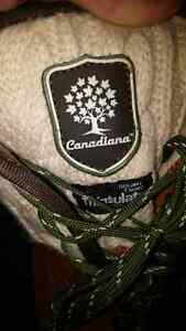 Winterized boots size 6 water resistant