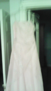 Pretty Prom pink long dress