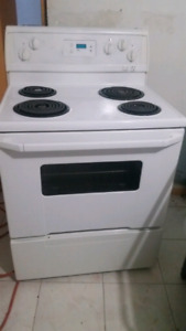 "30""STOVE WHITE ELECTRIC"