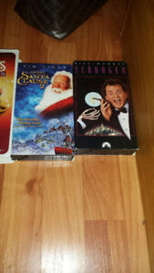 Assorted VHS Tapes.