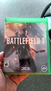 Battlefield 1 for Xbox one.