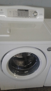 "LG Tromm 26"" Front Load White Washer"