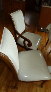 4 large dining kitchen chairs