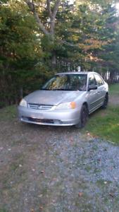 2002 Honda Civic Parts