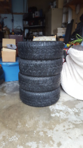 Like New TOYO Winter Tires on Steel Rims       225 45R 17