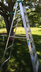 Werner 8 ft. Aluminum step ladder