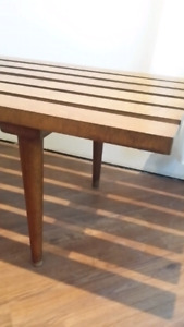 Mid century modern bench /coffee table