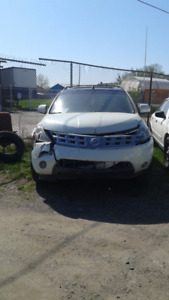 2003- NISSAN MURANO LS - PARTS & TIRES