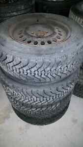 Winter tires and rims from a 2001 cavalier Gatineau Ottawa / Gatineau Area image 1
